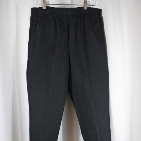 Bend Over Size 12 Black Pants